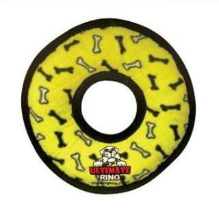 VIP Products Tuffy's Ultimate Ring Yellow Bone Print