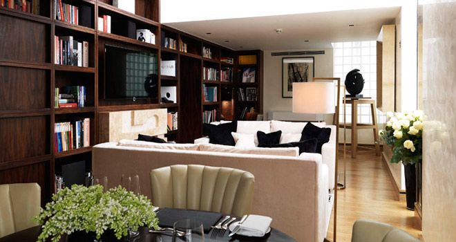 library suite at the Connaught hotel.