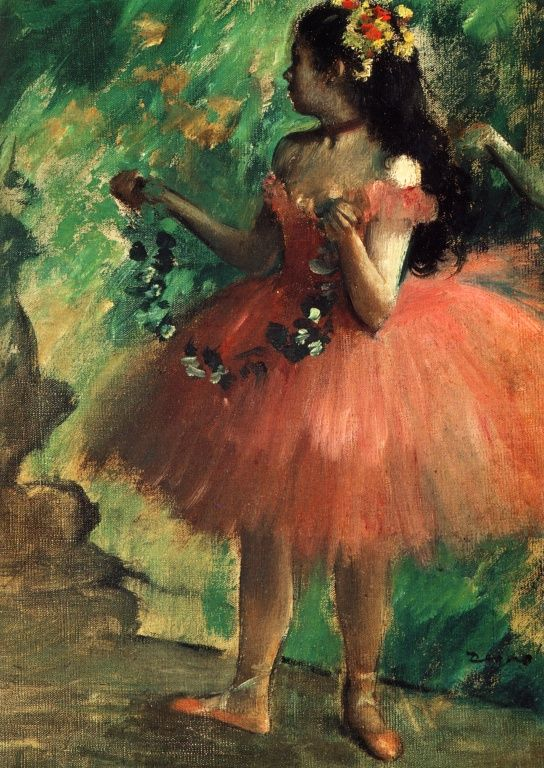 Edgar Degas - Dance Rose, 1878, Art Institute of Chicago