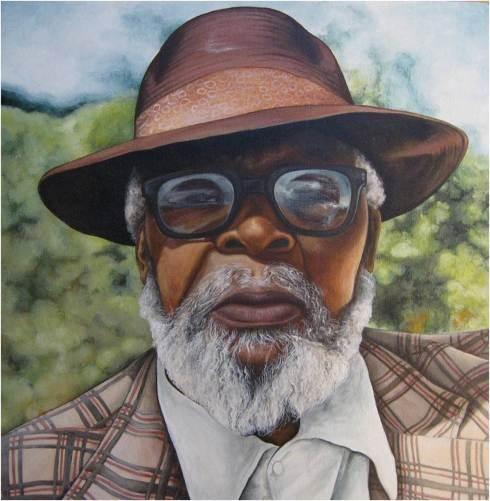 Solomon - Acrylic on Canvas (40 x 40cm)