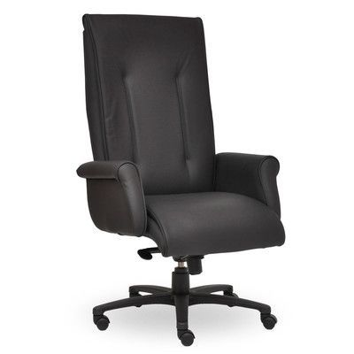 Seating Inc Tradition High-Back Executive Chair Upholstery: Navy, Seat Mechanism: Multi Locking Tilter
