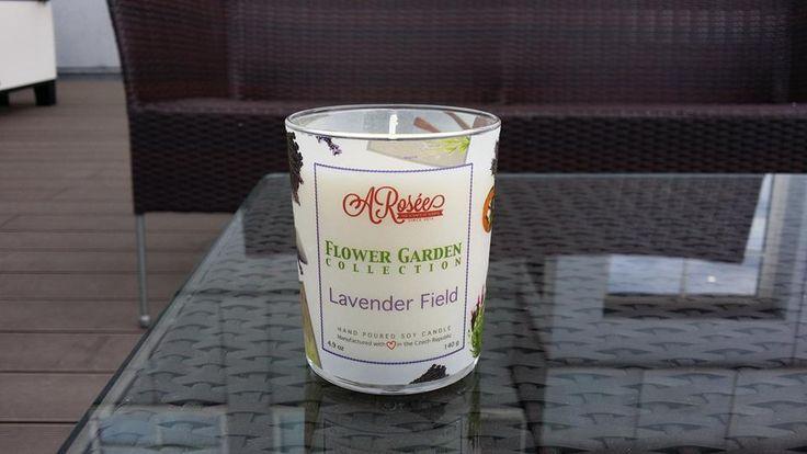 New arrival! ARosée Lavender Field soy candle. http://arosee.com/produkt/sojova-svicka-arosee-lavender-field/