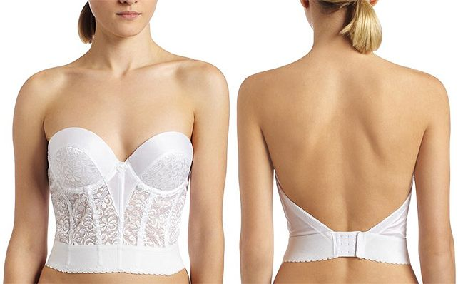 Carnival CA237 strapless lace bustier