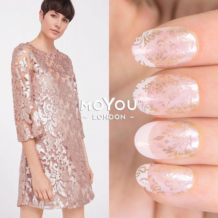 Fashionista 07/08⠀  Polishes - Ladygold Pink⠀