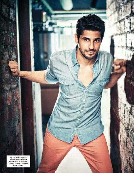 Sidharth malhotra photoshoot for hi blitz magazine