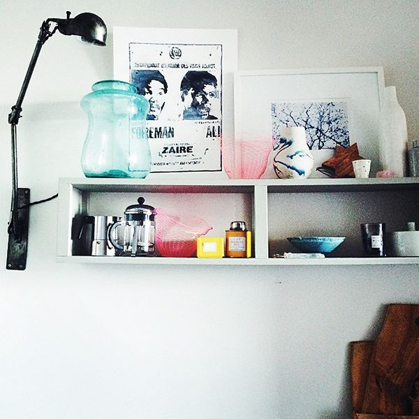 The Shelfie | A New Instagram Trend  - The design world's answer to the selfie. (Photo: Via @kimficaro) Via Refnery29