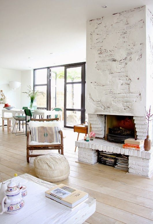 How to Fluff up your Fireplace