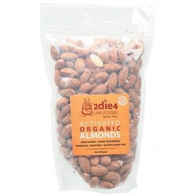 2DIE4 Live Foods Activated Organic Almonds are probably the crunchiest, most delicious almonds you'll find. World Famous.