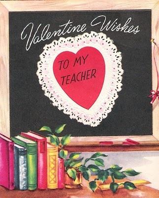 47 best Vintage Teacher Valentines images on Pinterest  Board