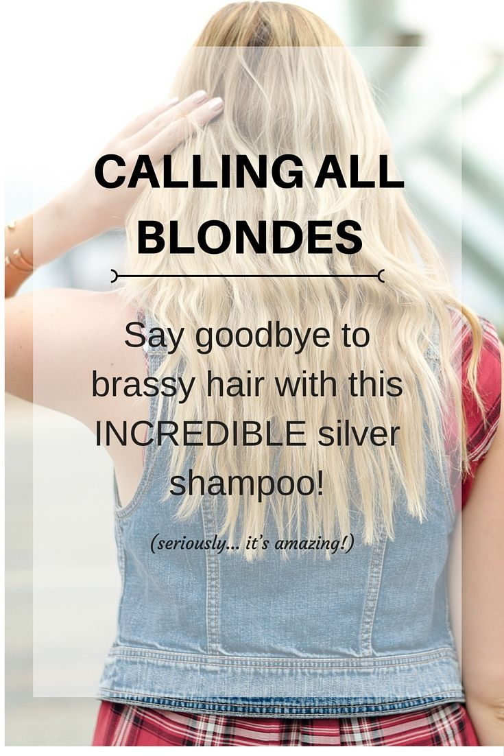 How to fix brassy blonde hair!