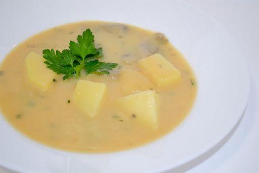 Supă vieneză de cartofi