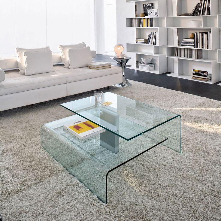 Harrow Coffee Table By Tonin Casa · Cool Coffee TablesGlass Top ...