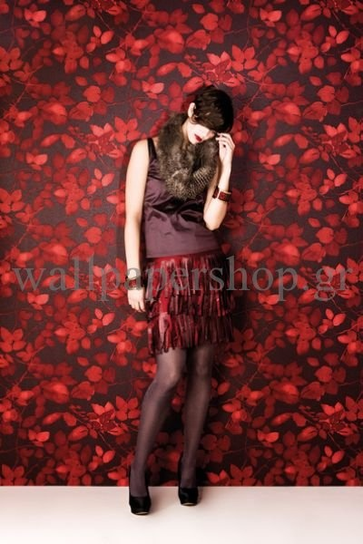 Wallpapers :: Romantic :: Silence :: Silence Forest Red No 7284 - WallpaperShop