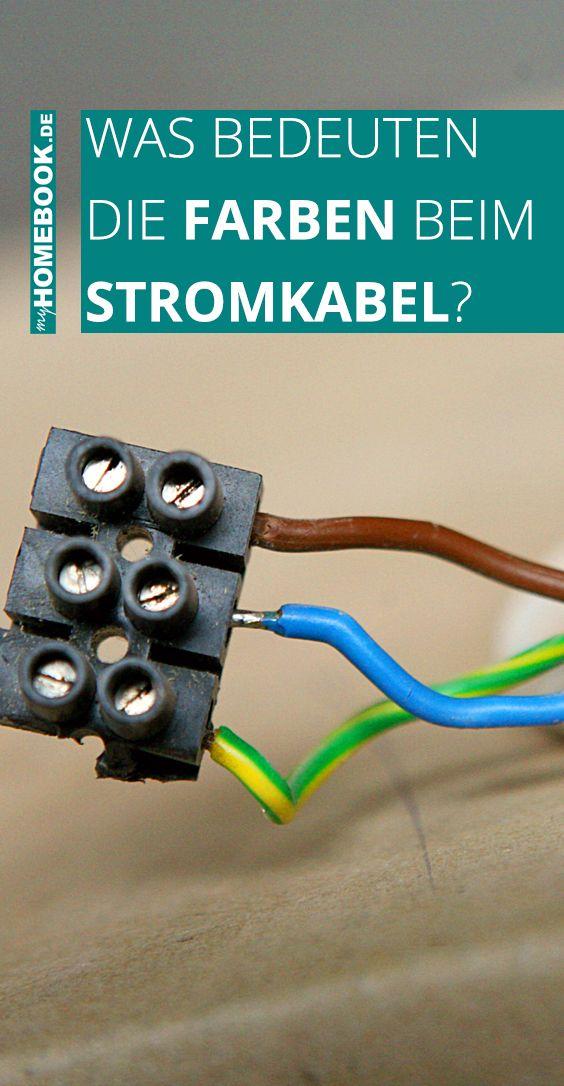 Was bedeuten die Farben beim Stromkabel?