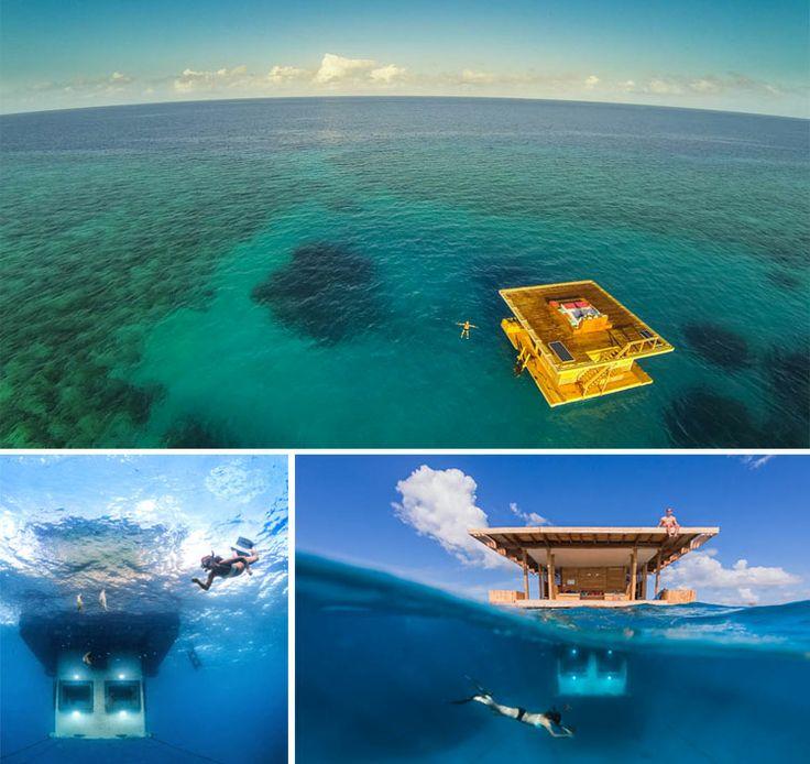 Exceptionnel Les 25 meilleures idées de la catégorie Hotel sous l eau sur  ED98