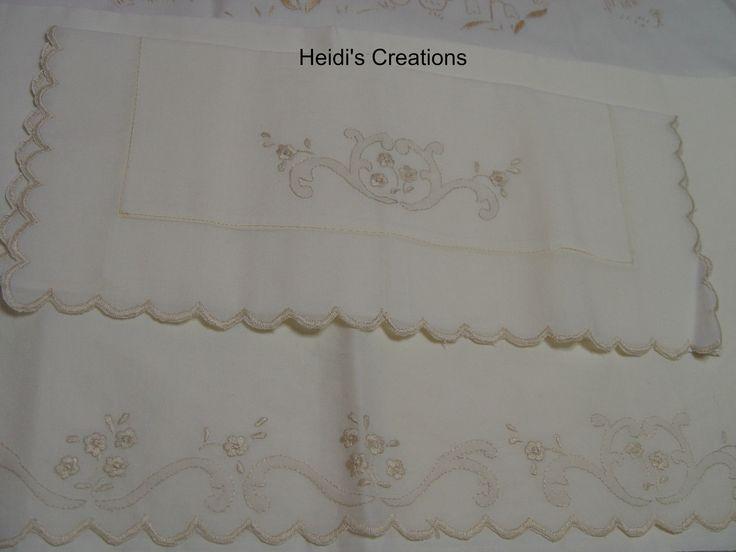 ,hand embroidered,с ручной вышивкой, ricamato a mano,lenzuolino con ricami https://www.facebook.com/lecreazionidiheidi?ref=stream