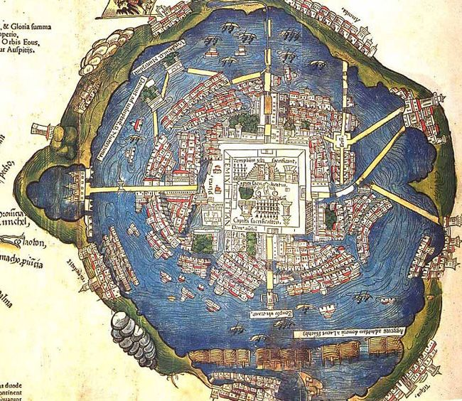 Tenochtitlan (Aztec Capital)