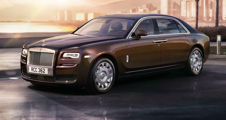 Roll Royce Ghost Series II, coches de lujo