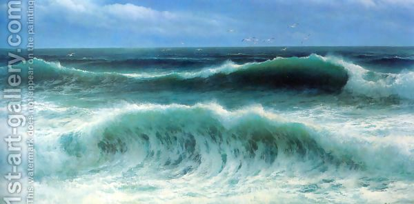 Breaking Waves I by David James