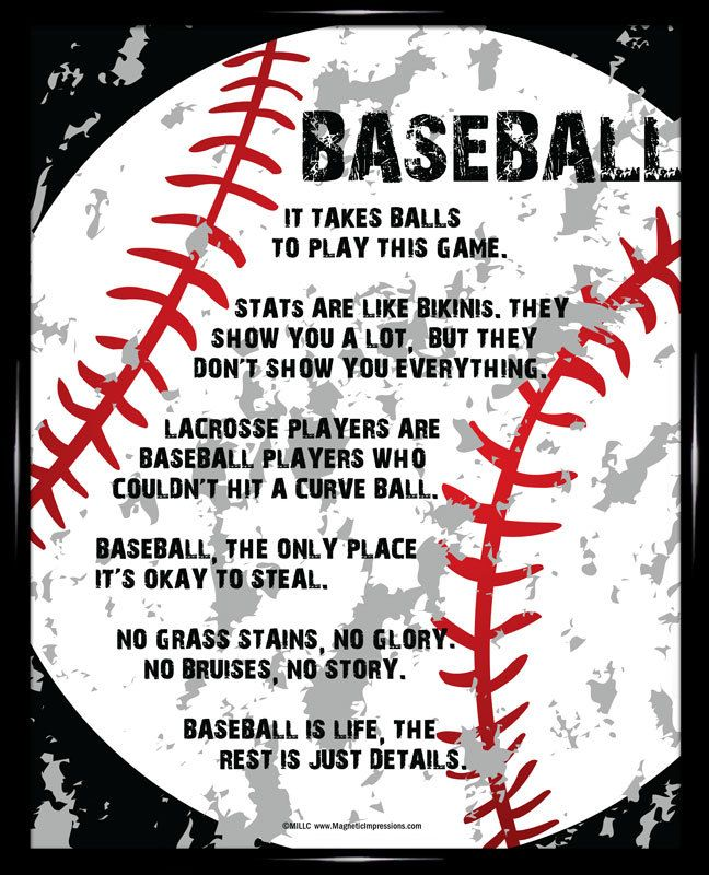 Baseball Player Gritty 8x10 Poster Print. With modern graphics and wickedly funny sayings, this is the perfect gift for any baseball player or MLB fan.