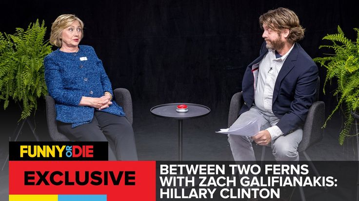 Zach Galifianakis Interviews Hillary Clinton on Between Two Ferns
