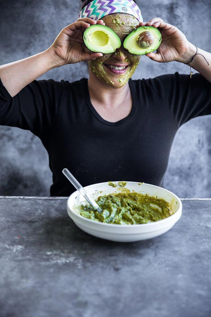 Avocado matcha and egg face mask antiagingfacemasks in