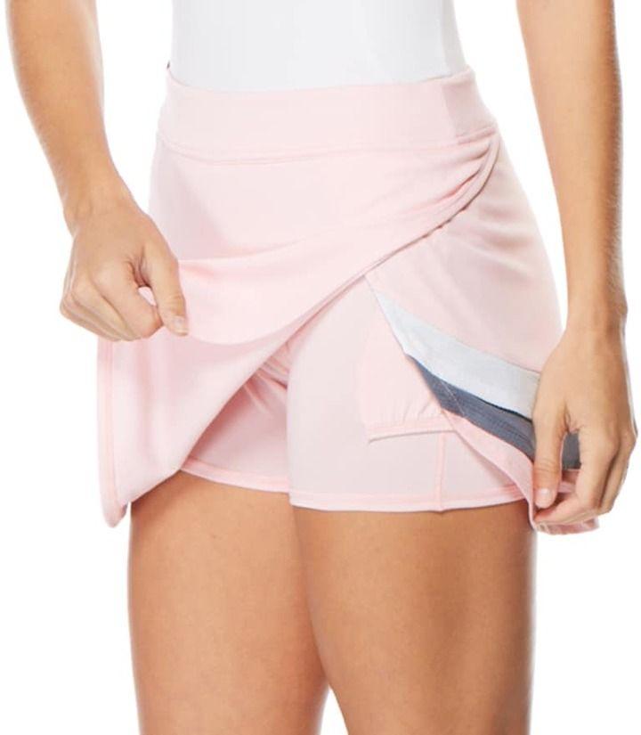 Grand Slam Women's Grand Slam Layered Color Block Golf Skort
