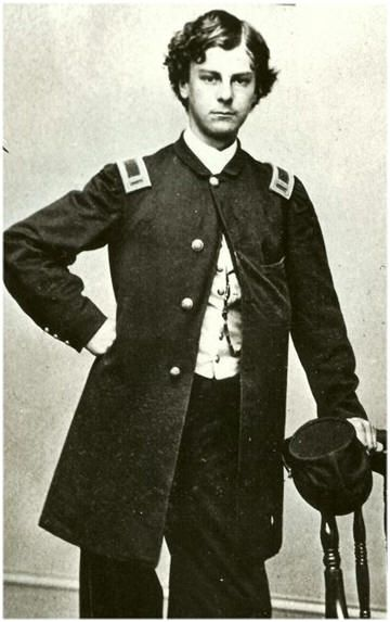 Arthur Macarthur was a brave teenaged officer in the Civil War. He won the Medal of Honor at 18, and was a Lt. Col by the age of 19. Years later his son, Douglas MacArthur, would also win the Medal of Honor - making them one of only two Father-Son recipients of the Medal of Honor.