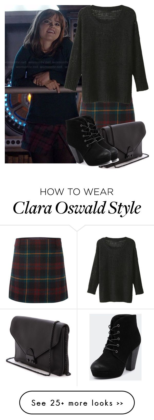 """clara oswald"" by darrenisapuppy on Polyvore"