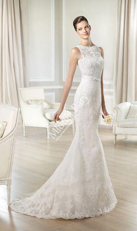 suknie ślubne cygaro ew model klasyczny linia A