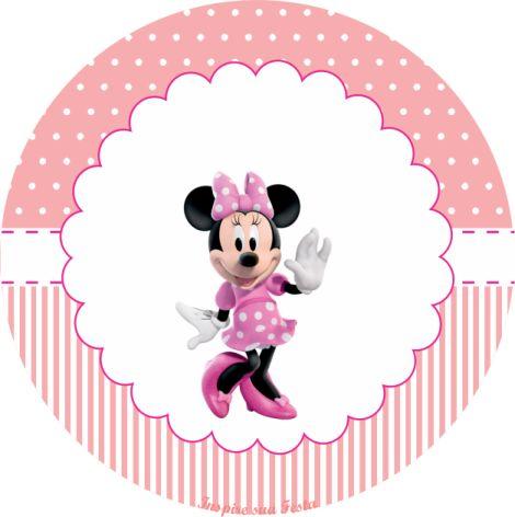 Minnie Rosa – Kit festa infantil grátis para imprimir – Inspire sua Festa ®
