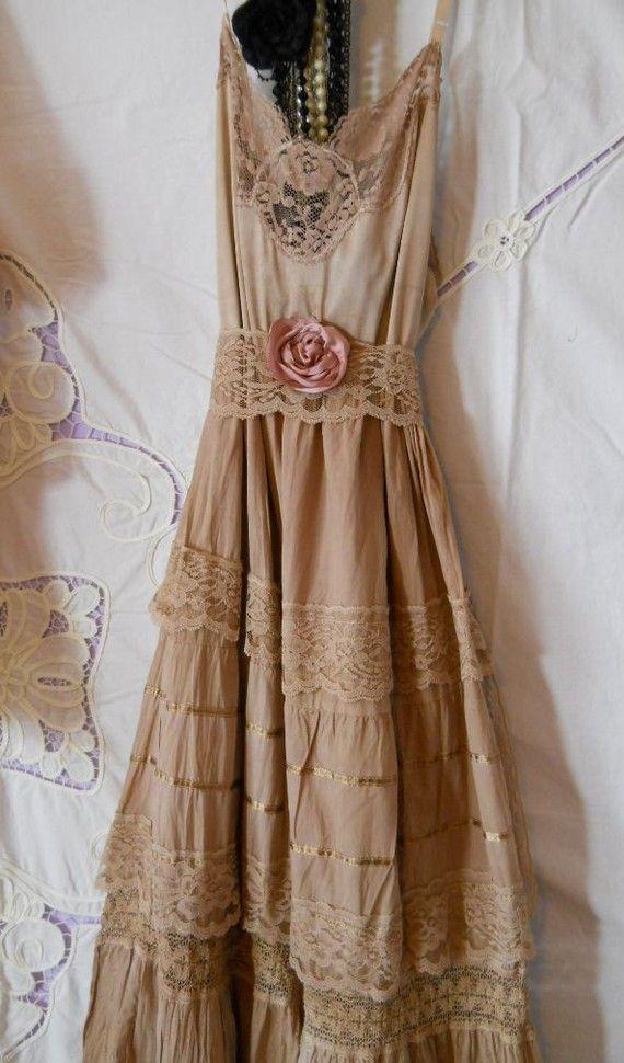 tea stain dress