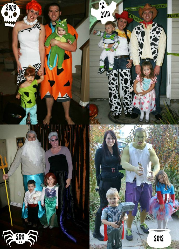 16 best halloween costumes images on Pinterest Halloween makeup - halloween costume ideas for family