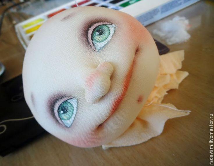 Как сшить каркасную текстильную куколку в смешанной технике - Ярмарка Мастеров - ручная работа, handmade