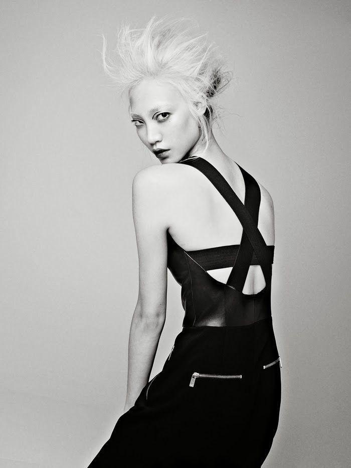 Model: Soo Joo Park (Wilhelmina) Editorial: California Girl Magazine: Models.com, Of The Minute Photographer: Hao Zeng