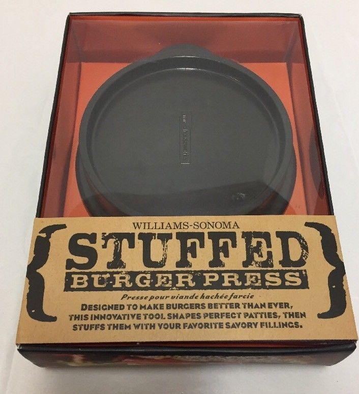 New Williams Sonoma Stuffed Burger Press #WilliamsSonoma