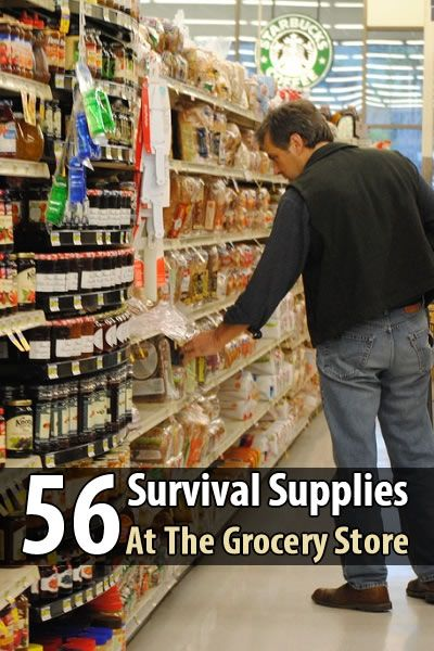 Survival food is any type of food that lasts a long time without refrigeration. And fortunately, there are plenty of those at your local grocery store.