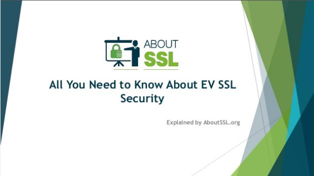 All You Need to Know About EV SSL Security.  #ev #ssl #security #infosecurity #presentation