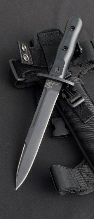Extrema Ratio Knives 3909OR Ordinan C.O.F.S. (Comando Operativo Forze Speciali) Fixed Blade Knife with NATO MIL-SPEC Elastomer Forprene Handles