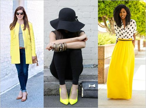 Tudo amarelo