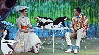 Mary Poppins... My favorite Disney movie.