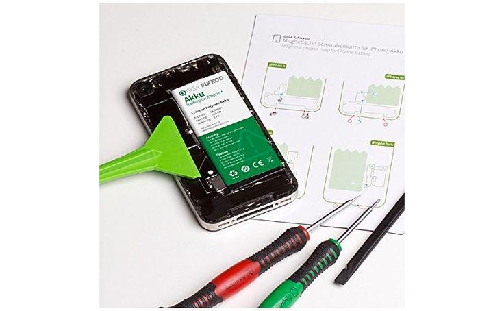 Batería para iPhone con kit de herramientas e instrucciones: dale nueva vida a tu terminal de Apple cambiando la batería tu mismo