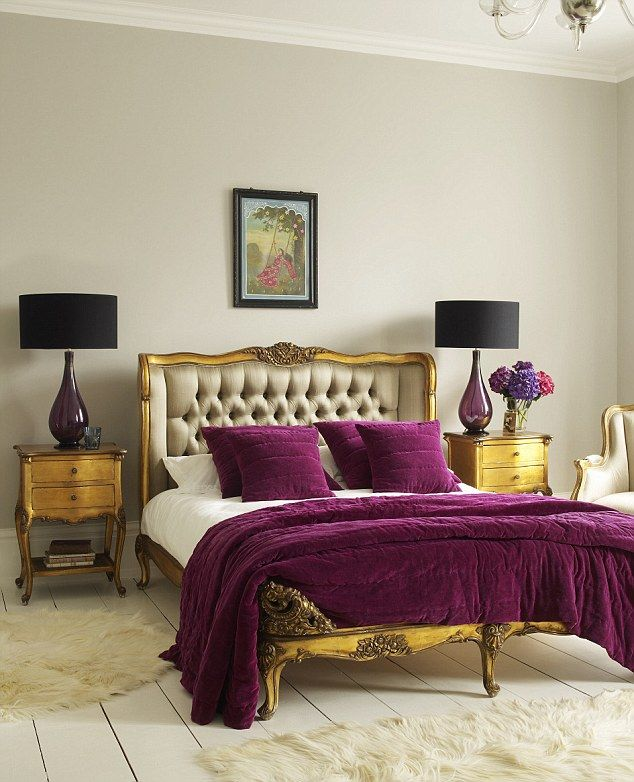 So luxe...Chateau double bed, Graham & Green.