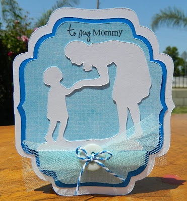 A Child's Year cartridge, My Creative Time Stamps: Beautiful Cards, Mommy Cards