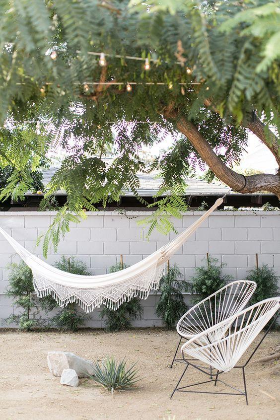 hammock & acapulco chairs