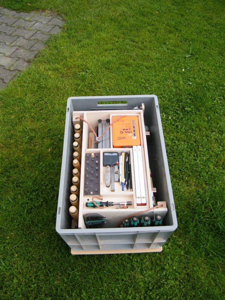 Eurobehälter als Werkzeugträger / Alternative zu…