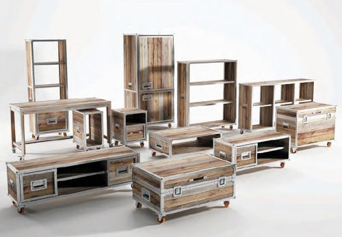 We love the Roadie collection of recycled teak wood furniture by Karpenter. Karpenter is about innovation, while considering the environment and respecting what is classic, and they do a...