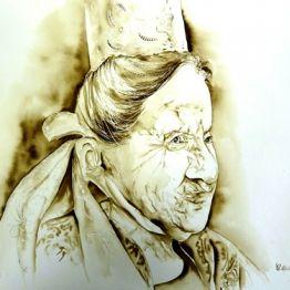 vente aquarelle Portrait du Finistère