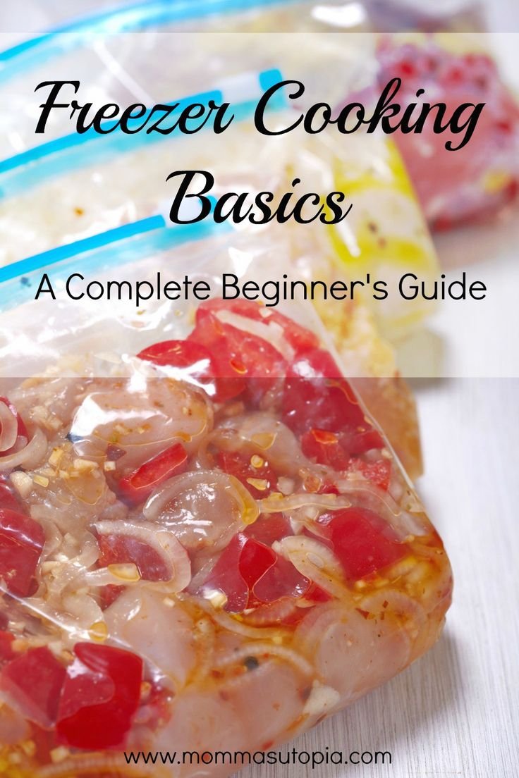 Interested in freezer cooking but overwhelmed with all the information out there? This is the perfect, simple introduction you need.
