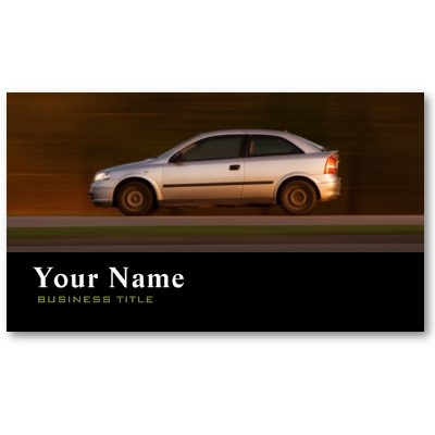 Car Dealer Business Card :: $19.99 per pack of 100. Check for discounts.